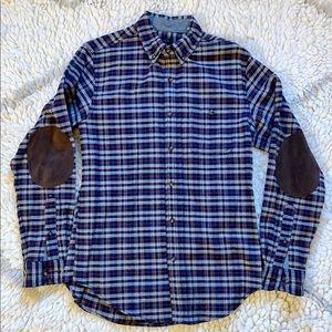 J Crew Wool Blend Plaid Flannel Shirt Jacket